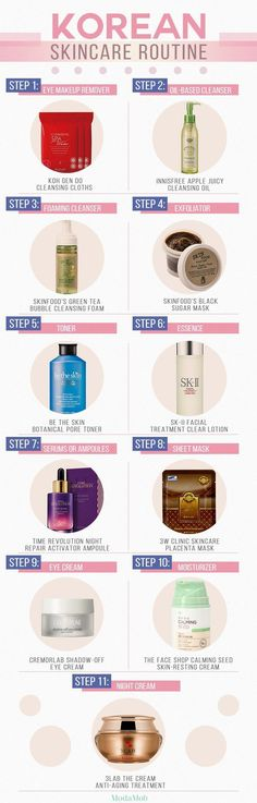 11 Step Korean Skincare Routine  | Koh Gen Do Cleansing Cloths  | InnisFree Apple Juicy Cleansing Oil|  Skinfood's Green Tea Bubble Cleansing Foam|  Skinfood's Black Sugar Mask| Be The Skin Botanical Pore Toner|  Sk-II Facial Treatment Clear Lotion|  Time