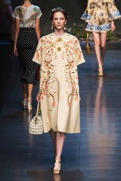 Fashion spring summer 2014 DG  (Maybe if I was 90)