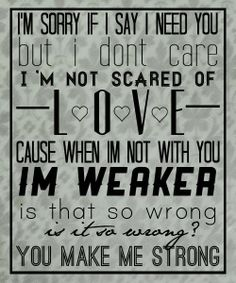 Strong ~ One Direction
