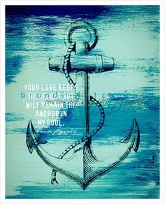 Poseidon, Anchor Tattoos, Anchor Tattoo Quotes, Nautical Tattoos, Tatoo Art, Pics Art, Love And Marriage, Picture Tattoos, Wall Signs