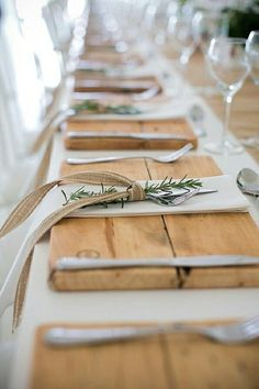 Our Wood Placemats f