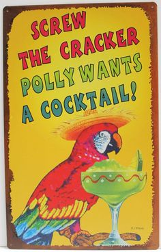 Vintage Metal Tin Sign Poster Plaque Bar Pub Club Cafe Home Plate Wall Decor Art Vintage Tin Signs, Vintage Bar, Vintage Humor, Vintage Metal, Vintage Cartoon, Plate Wall Decor, Home Wall Decor, Plates On Wall, Home Pub