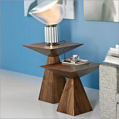 cattelan italia theo pyramid side table by giorgio cattelan £979 for smaller one.