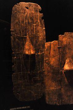 Shields from the Hjortspring Bog (Denmark), ca 350 BC.
