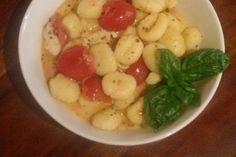 Gnocchi mit Tomaten und Mozzarella 1