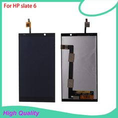 LCD Display Touch Screen Digitizer Assembly For HP slate 6 VoiceTab Slate6 Black Color Replacement Mobile Phone LCDs //Price: $US $40.84 & FREE Shipping //     #hashtag1