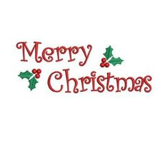 Popular Embroidery Designs Merry Christmas Embroidery Design - via - Local Embroidery, Sewing Machine Embroidery, Embroidery Materials, Learn Embroidery, Free Machine Embroidery Designs, Embroidery Stitches, Ribbon Embroidery, Embroidery Jewelry, Crochet Stitches