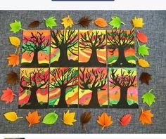 Bilderesultat for winterknutsels bovenbouw Fall Arts And Crafts, Autumn Crafts, Autumn Art, Autumn Activities For Kids, Art Activities, Fall Art Projects, Leaf Crafts, Ecole Art, Kindergarten Art