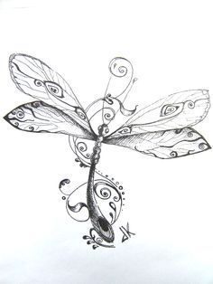Dragonfly drawings dragonfly tattoos designs free dragonfly clip art