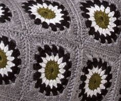Urban granny throw - would be great in pastels for summer. Love this design, thanks so xox