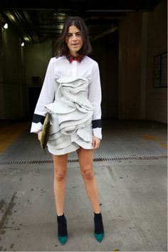 Wondering how to make an old dress new?