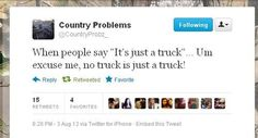 Amen to that.      Country Problems