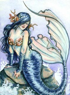 Fairy Art, Fantasy Art, Poster and Prints Gallery, Clothing, Gifts and Accessories from fairy artist Selina Fenech Tattoos Mandala, Tattoos Geometric, Xoil Tattoos, Octopus Tattoos, Forearm Tattoos, Tattoo Ink, Mermaid Fairy, Mermaid Tale, Fantasy Mermaids