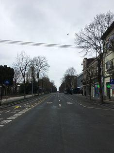 Empty bulevard Tomis during Corona lock down, Constanța Romania, March 2020 Constanta Romania, Empty, Sidewalk, March, Country Roads, Corona, Walkway, Walkways, Mars
