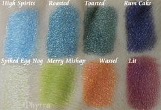 Meow Deck Your Halls Collection Review and Swatches. Click through to see more.    #makeup #beauty #crueltyfree