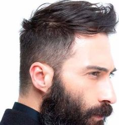 Discover recipes, home ideas, style inspiration and other ideas to try. Mens Hairstyles Quiff, Mens Hairstyles Round Face, Quiff Men, Haircuts For Balding Men, Thin Hair Haircuts, Medium Hair Styles, Short Hair Styles, Hairstyles For Receding Hairline, Faded Hair