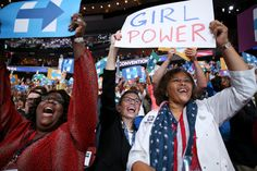 Marguerite Willis of South Carolina cheered as Hillary Clinton was formally nominated.