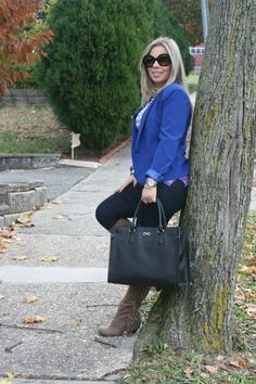 latest post blue #outfit