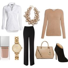 The Good wife inspired work office business smart outfit.  Diane Lockhart style