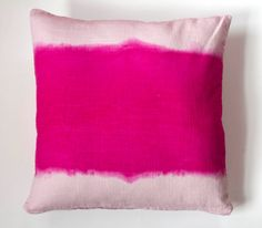 18x18 Pink Pillow Cover Decorative throw pillow by TheTangledPath, $45.00