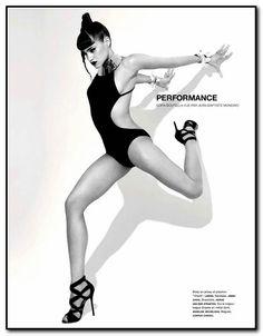 Editorial 'Algerian-French Dancer' Sofia Boutella Dances For ...