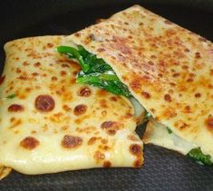 Spinach and Ricotta Cheese Crepes