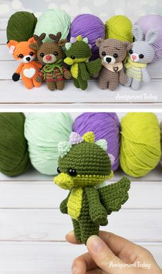 If you're looking for an absolutely adorable tiny dragon, take a look at this dragon amigurumi pattern. The convenient size of this little amigurumi dragon is one of its many charms. FREE crochet pattern for Little mary lamb lovey - by swecraftcorner Unic Amigurumi Pikachu, Crochet Pikachu, Crochet Animal Amigurumi, Crochet Animal Patterns, Crochet Animals, Crochet Dolls, Knitting Patterns, Amigurumi Doll, Free Amigurumi Patterns