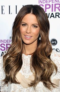 Kate Beckinsale is 1 of the most beautiful women ever!!!! The wavy hair, make-up, flawless... Loves!!!! Have you seen the new promotion Real Techniques brushes -$10 http://samanjoin.wistia.com/medias/wyng8cwdsa #women #beauty #beautywomen #makeup