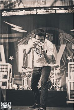 Jeremy Mckinnon of A Day to Remember. One of the most influential people in my life. His music saved my life.