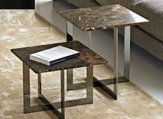 side-table-contemporary-wood-glass-4375-1485179 | Mermer Sehpa
