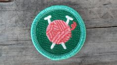 Ball of Yarn 'Needleraft' ScoutStyle Merit by TheScoutProject, $3.75 ....for the hipster scout