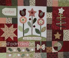 Block 6. Gail Pan Christmas BOM