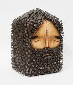 Jaime Molina – Beautiful creations between street art and sculpture (image) Colossal Art, Scrap Metal Art, Junk Art, Grid Design, Design Art, Wood Sculpture, Abstract Sculpture, Bronze Sculpture, Art Plastique