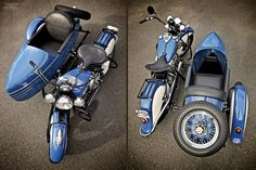 Indian Four with Indian Sidecar - Moto Rivista