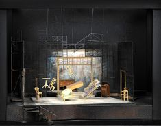 glass menagerie set