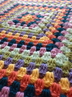 A baby blanket so soft and warm toddler blanket from etsy millyandoak crochet granny square stitch throw or afghan bright and colorful with seven different colors! Only from my Etsy shop https://www.etsy.com/listing/397980607/baby-blanket-crochet-seven-bright-colors