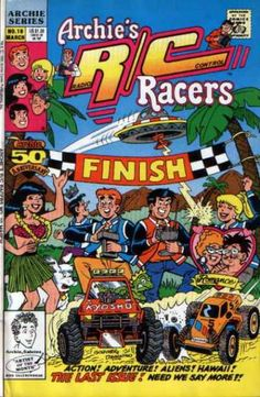 Wave the checkered flag: It's the finish line!
