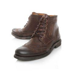 kerland, brown shoe by kg kurt geiger