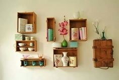#Boxes in the wall