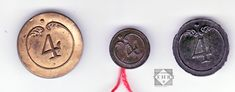Coins, Personalized Items, Restoration, Buttons, Rooms