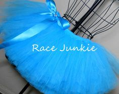 Blue Adult tutu. Many Colors Available 9 inch tutu by RaceJunkie, $28.00