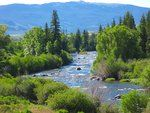 The Blue River in Colorado, one of my favorite fly-fishing destinations