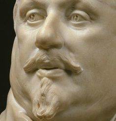Gian Lorenzo Bernini, Bust of Cardinal Scipione Borghese, 1632, marble. Galleria Borghese, Rome