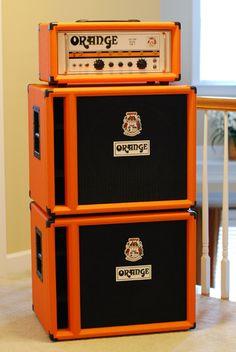 Crescent Electric Bass Guitar Starter Kit - Pink Color (Includes Amp & CrescentTM Digital E-Tuner) Valve Amplifier, Orange Amps, Home Studio Music, Bass Amps, Guitar Pedals, Vintage Guitars, Cool Guitar, Music Stuff, Cool Stuff