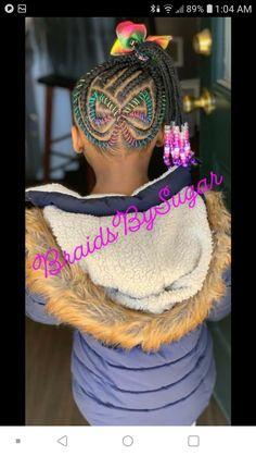 The Best Haircuts For Teenage Girls – HerHairdos Little Girl Braid Styles, Kid Braid Styles, Little Girl Braids, Black Girl Braids, Braids For Kids, Braids For Black Hair, Girls Braids, Little Girl Haircuts, Black Kids Hairstyles