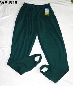 Ladies NEW Plus Size 14W/16W  Green Stirrup Pants by Willow Bay SALE $17.99 w/free ship