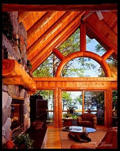 Beautiful window design and sliding doors!