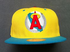 MLB Los Angeles Anaheim Snapback Hats Caps Yellow 3587! Only $8.90USD
