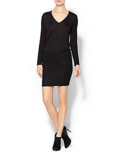 Lanston V-Neck Mini Dress