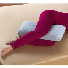 The Hip And Knee Oversized Comfort Pillow. from Hammacher Schlemmer on Catalog Spree, my personal digital mall.